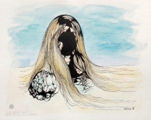Surrealismus kopie obrazu Toyen
