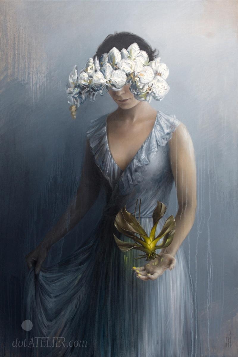 Symbolistický obraz ženy