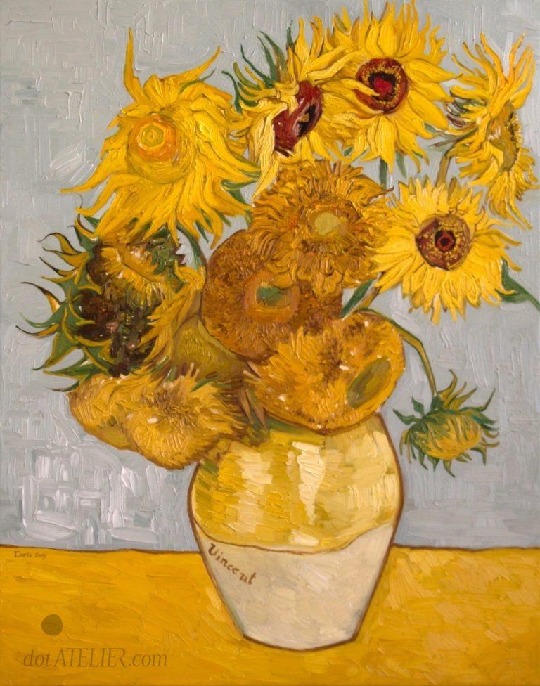 Obraz SLUNEČNICE – REPRODUKCE – Vincent van Gogh