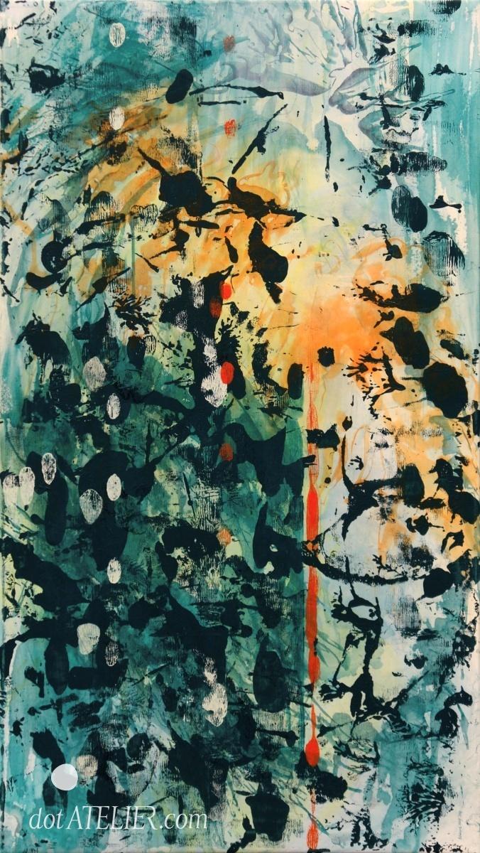 Obraz na prodej SONDA malba akrylem