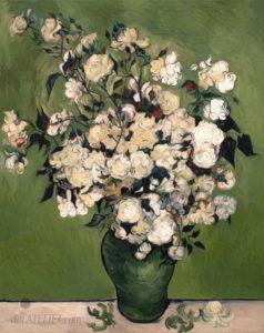 Obraz kytice růží kopie Vincent van Gogh